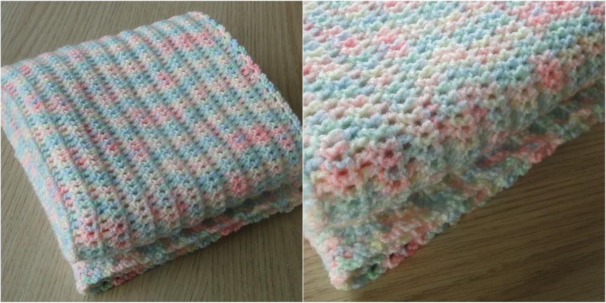 Easy Baby Blanket Free Crochet Pattern Styles Idea