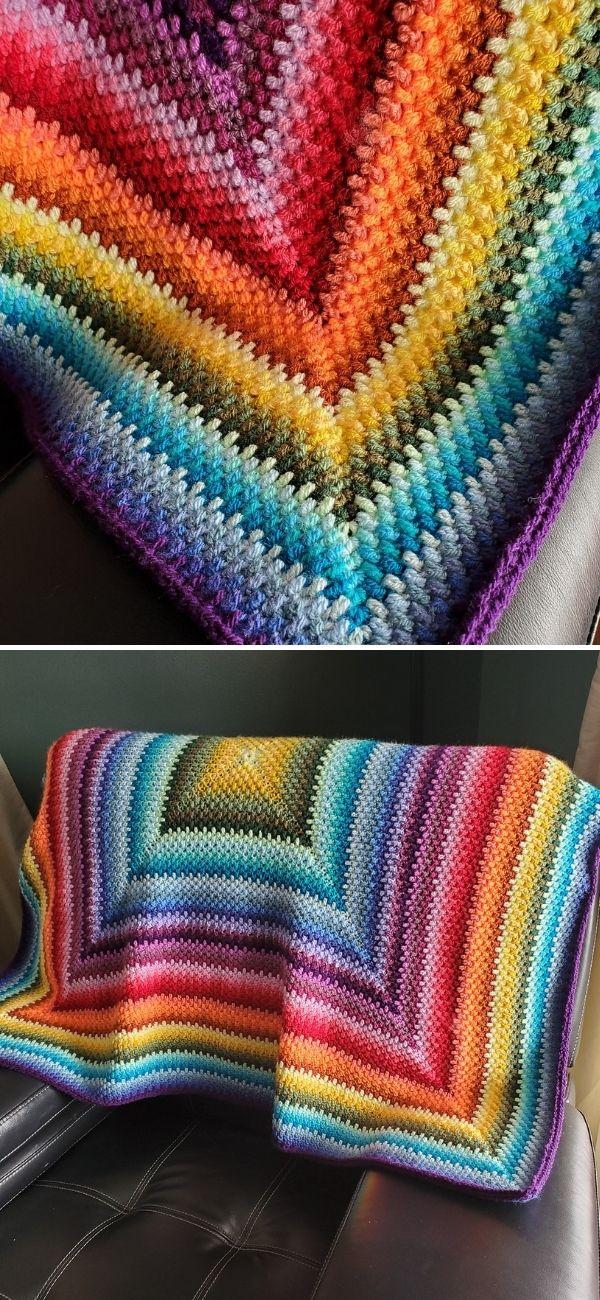 Sunburst Ombre Blanket