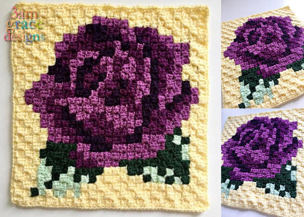 3 Nature Blanket C2c Cal Crochet Patterns Free 2 Styles Idea