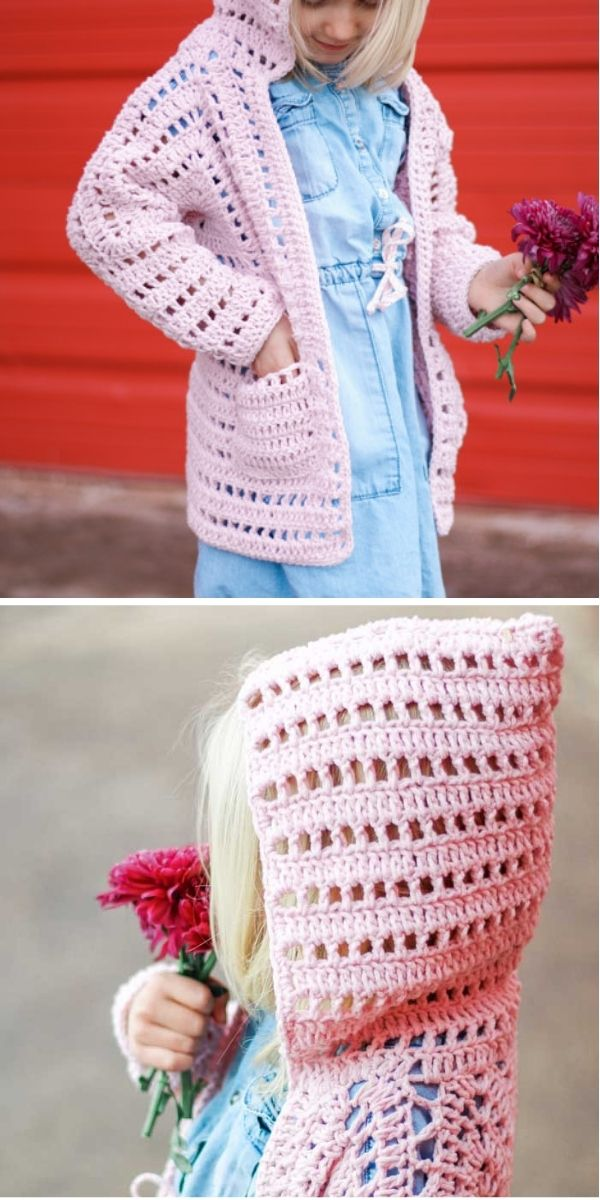 The XO Sweater Crochet cardigans